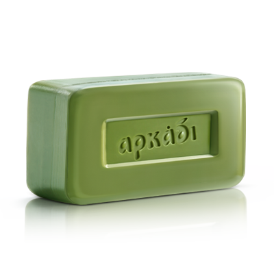 Arkadi Classic Green Soap bar Olive Oil - Soap Factory Arkadi