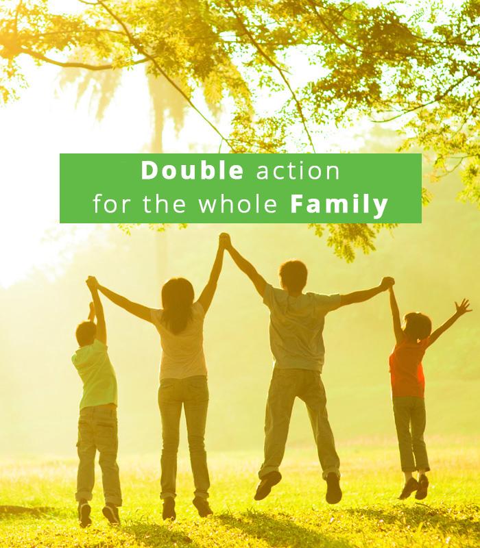 Arkadi Family double action liquid detergent
