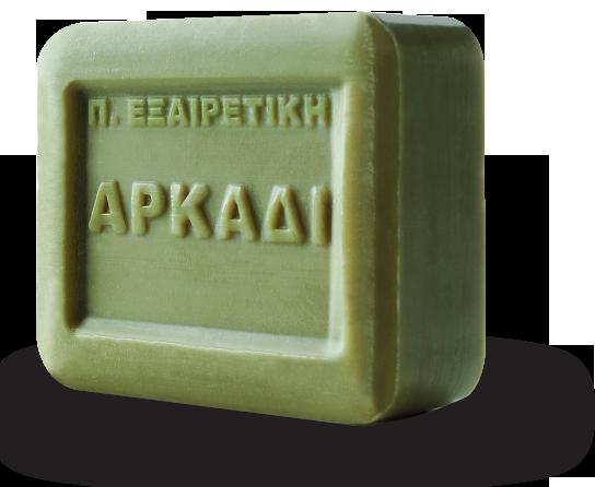 Αρκάδι Παραδοσιακό Πράσινο Σαπούνι πλάκα