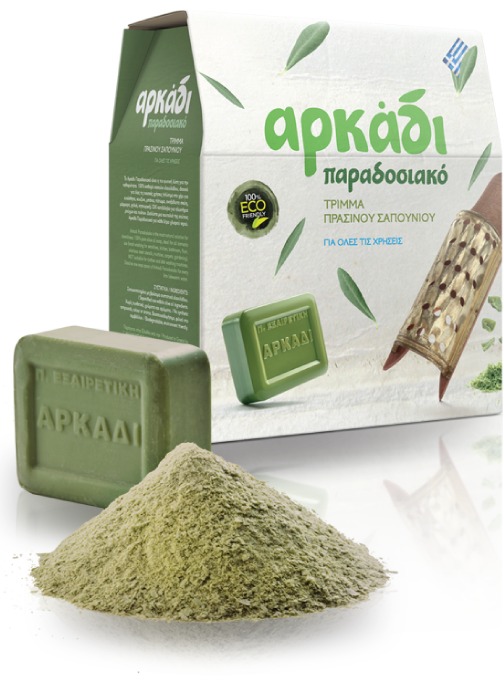 Arkadi Traditional Soap Flakes - Green Soap Flakes
