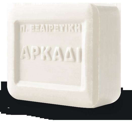 Arkadi Classic White Soap bar 100% natural