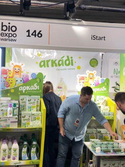 Το Αρκάδι στη Διεθνή Εμπορική Εκθεση Βιολογικών Προϊόντων Τροφίμων BIOEXPO Βαρσοβίας