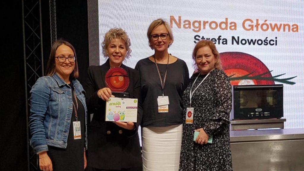 Διεθνής Εμπορική Εκθεση Βιολογικών Προϊόντων Τροφίμων BIOEXPO Βαρσοβίας - 1η Βράβευση Αρκάδι